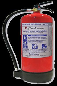 Extintor-agua+aditivos-6L