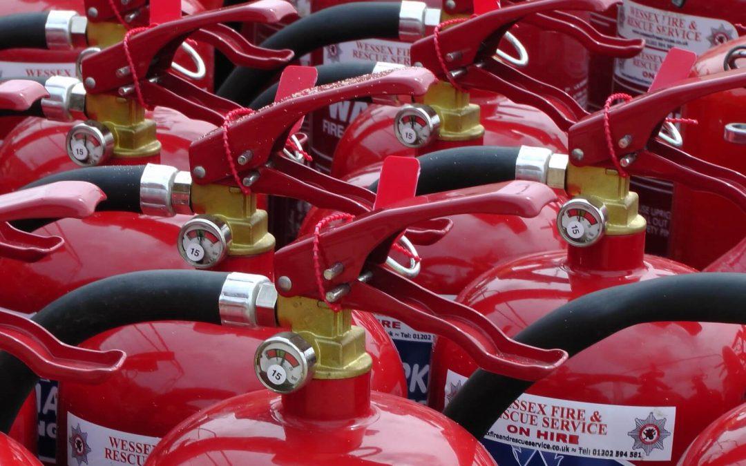 recarga de extintores en madrid