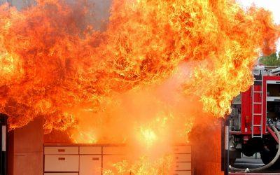 Formación contra incendios