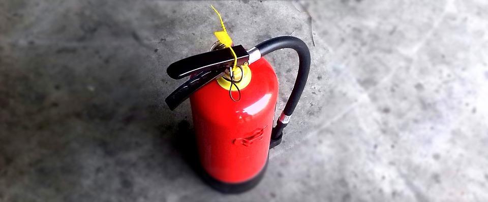 Extintores para naves